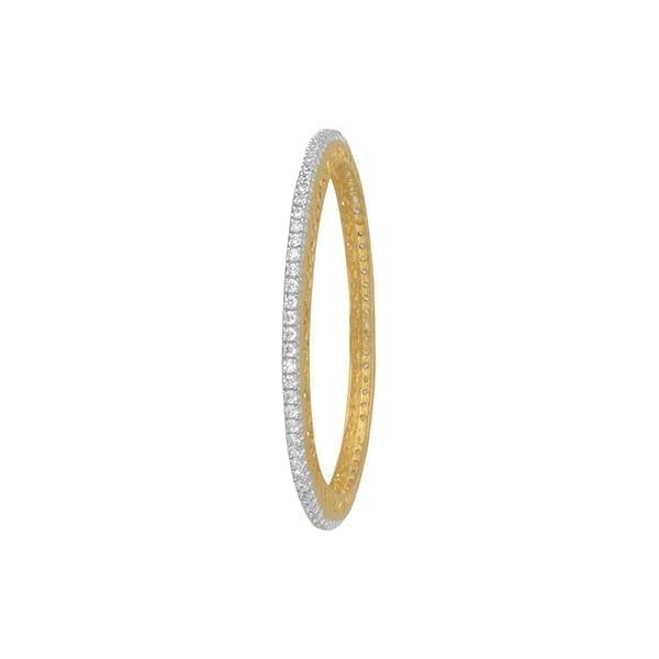 Diamond Bangles In 18Kt Gold(24.340 Gram)With Diamonds(3.30 Ct)