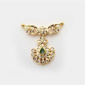 Diamond Mangalsutra In 22Kt Gold(15.710 gram)with Diamonds(1.43 Ct)
