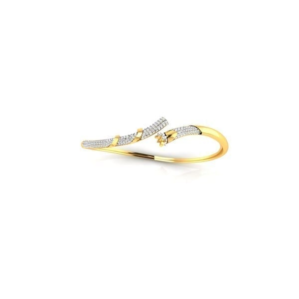 Diamond Bracelet In 18Kt Gold(13.710 gram)with Diamonds(1.45 Ct)