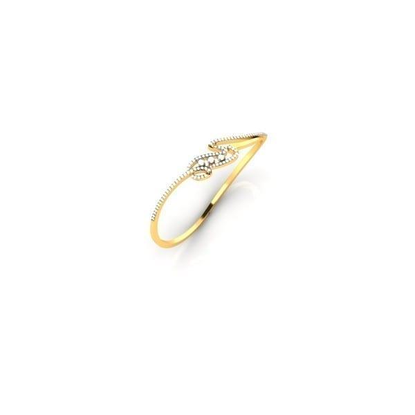 Diamond Bracelet In 18Kt Gold(10.780 gram)with Diamonds(1.07 Ct)