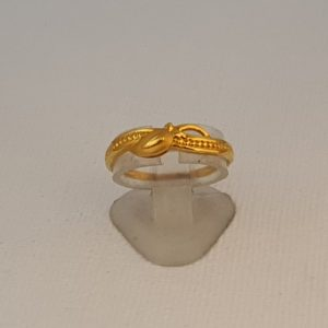 Gold Ring (2.080 Grams), 22Kt Plain Yellow Gold Jewellery for Women