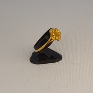 Gold Ring (2.340 Grams), 22Kt Plain Yellow Gold Jewellery for Women
