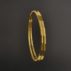 Gold Bangles (23.860 Gms) set of 2 in 22K Yellow Gold