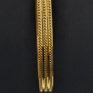 Gold Bangles (26.390 Gms) set of 2 in 22K Yellow Gold