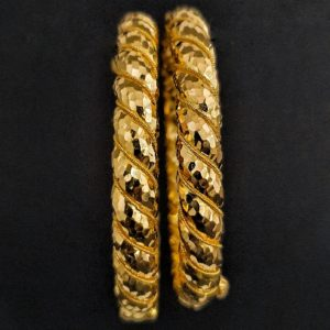 Gold Bangles (49.500 Gms) set of 2 in 22K Yellow Gold
