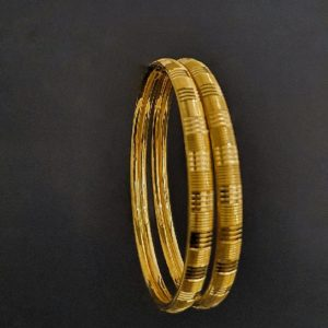 Gold Bangles (32.020 Gms) set of 2 in 22K Yellow Gold