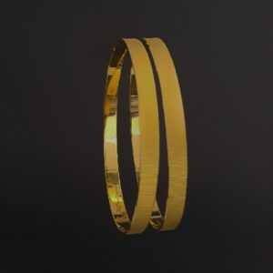 Gold Bangles (26.170 Gms) set of 2 in 22K Yellow Gold