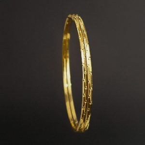 Gold Bangles (18.400 Gms) set of 2 in 22K Yellow Gold